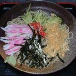 冷やしたぬき蕎麦(うどん)