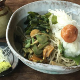 山菜梅おろし蕎麦・うどん
