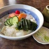 冷麦(奥州二本松 手延べ麺)