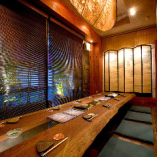 掘りごたつ個室は、会社の宴会や親族が集まるお食事会に。