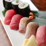 【鮪づくし寿司】 鮪の部位を堪能