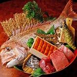 漁港から直送の鮮魚