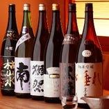 お酒の品揃えは三鷹で1番。 どうせ飲むならうまい酒で乾杯!