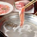 【女子会コース】薩摩黒豚しゃぶ食べ放題