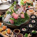 【黄金コース】料理長 自慢の築地鮮魚にこだわったコース