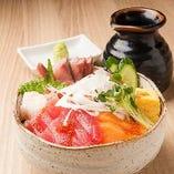海鮮物も新鮮で充実しています。