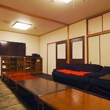 10人以上宴会コース限定、完全個室!