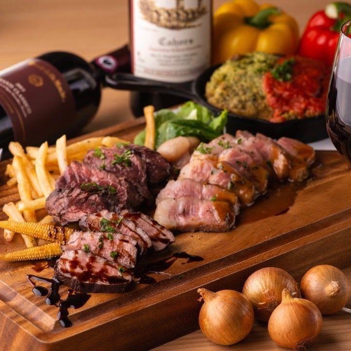 肉の旨味堪能♪個性派ビストロ肉料理
