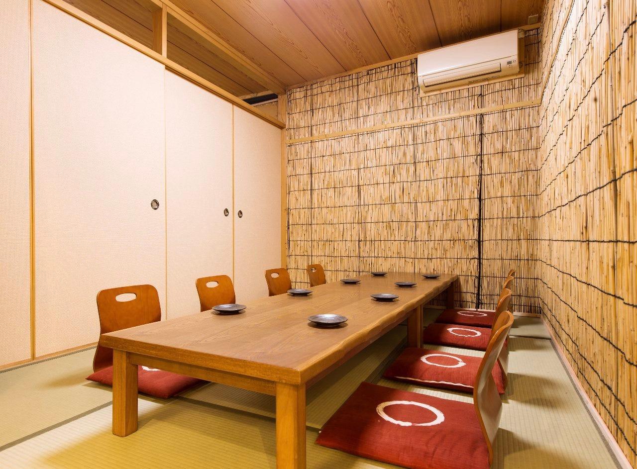 歓送迎会に◎完全個室3部屋完備