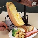 ハイジのチーズ☆ラクレット!【北海道】