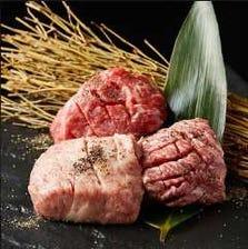近江牛専門精肉店から直送した厳選肉