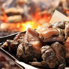 3時間飲み放題|薩摩地鶏炭火焼きや南洋ビントロのっけ盛りなど全8品『匠お手軽コース』