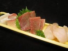 厳選した旬の海鮮料理☆