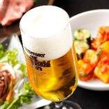 ◆やっぱりビール◆ サントリー樽生達人認定店!