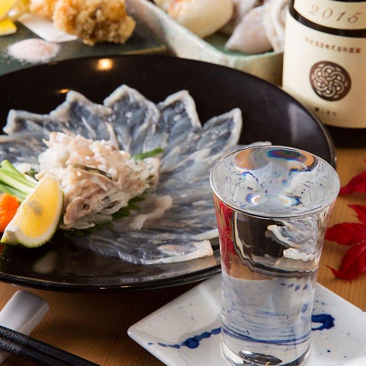 福岡の地酒もございます。お料理との相性も抜群です!