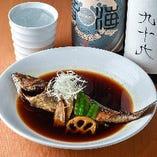 本日のおすすめ煮魚