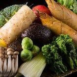 季節の野菜も続々入荷!福岡県産を中心に季節の食材が入荷