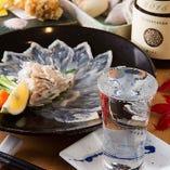 こだわりの料理は日本酒とも相性抜群!