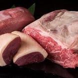 お肉も厳選した素材を使用