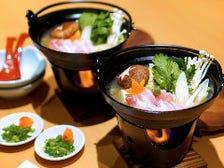 出汁にこだわった豚と野菜の一人鍋