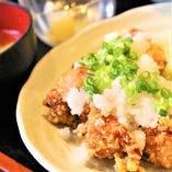 ・から揚げおろしポン酢定食