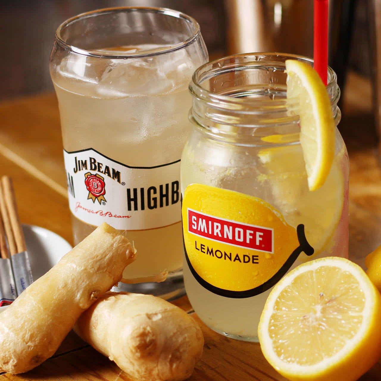 生ビール、自家製レモンサワー等飲放