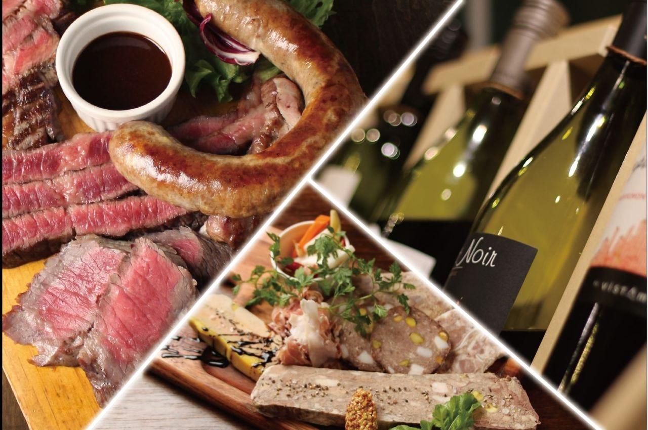 肉好きシェフによる渾身の肉料理