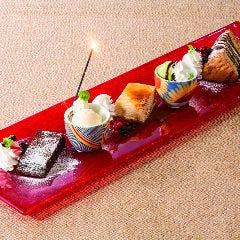 デザート3種盛合せ