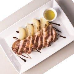 松阪ポークのステーキ