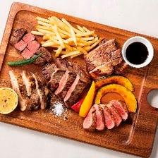 【牛】【豚】【羊】【鶏】必食の肉!