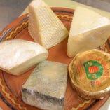 厳選チーズ【イタリア、フランス、スペイン】