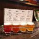 クラフトビール4種飲み比べ、今回は夏に美味しく感じる特集です
