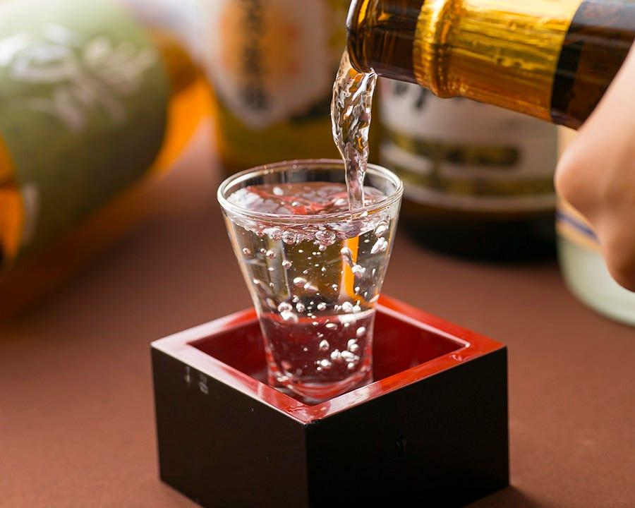 人気のプレミアム地酒をご用意!