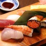 【海坊主特製】握り寿司盛合わせ6貫盛り