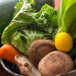 地元岸和田・泉州の新鮮な野菜