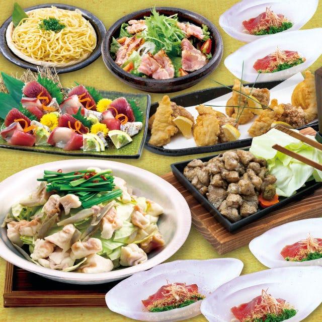 おすすめ◎【闘魂コース】九州のうまかもんを堪能♪料理10品!!