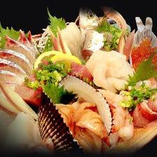 駿河湾の新鮮な地魚を味わう