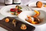 【独創的な料理】 新潟ではポピュラーな食材もワインに寄り添う
