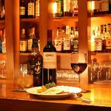 真夜中に味わう洋食と美味酒