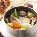 当店の名物!季節の味わい豊かな釜炊きご飯【山形県】