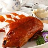 自慢の「窯焼き北京ダック」食べ放題でもコースでも楽しめます