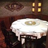 円卓テーブル個室 10名様まで、様々なシーンに対応致します