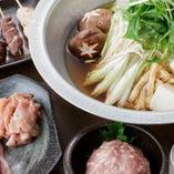 「鶏鍋」と「ちりとり鍋」から選択可能!飲み放題付き『喰う道の鍋コース』全5品