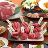 こだわりお肉と本格韓国料理が味わえる、充実の食べ放題コース!