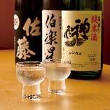 こだわりの日本酒、天ぷらに旨い日本酒。これからは燗酒ですね!