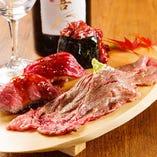 見た目にもこだわる自慢の創作肉バル料理をお楽しみください!