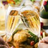 料理にピッタリのワインやシャンパン。誕生日/記念日【各名産地】