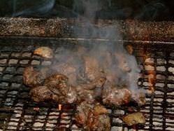 新鮮!濃厚!薩摩地鶏の炙り焼き