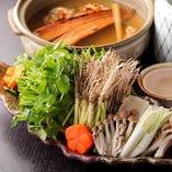 仙台唯一の穴子せり鍋。食べられるのは当店のみです。