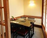接待に合った個室など人数や シチュエーションに合わせた個室をご用意
